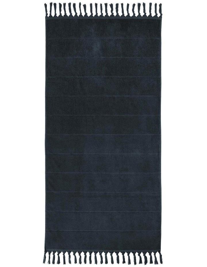 Paros Bath Towel Range in Slate Blue image 2