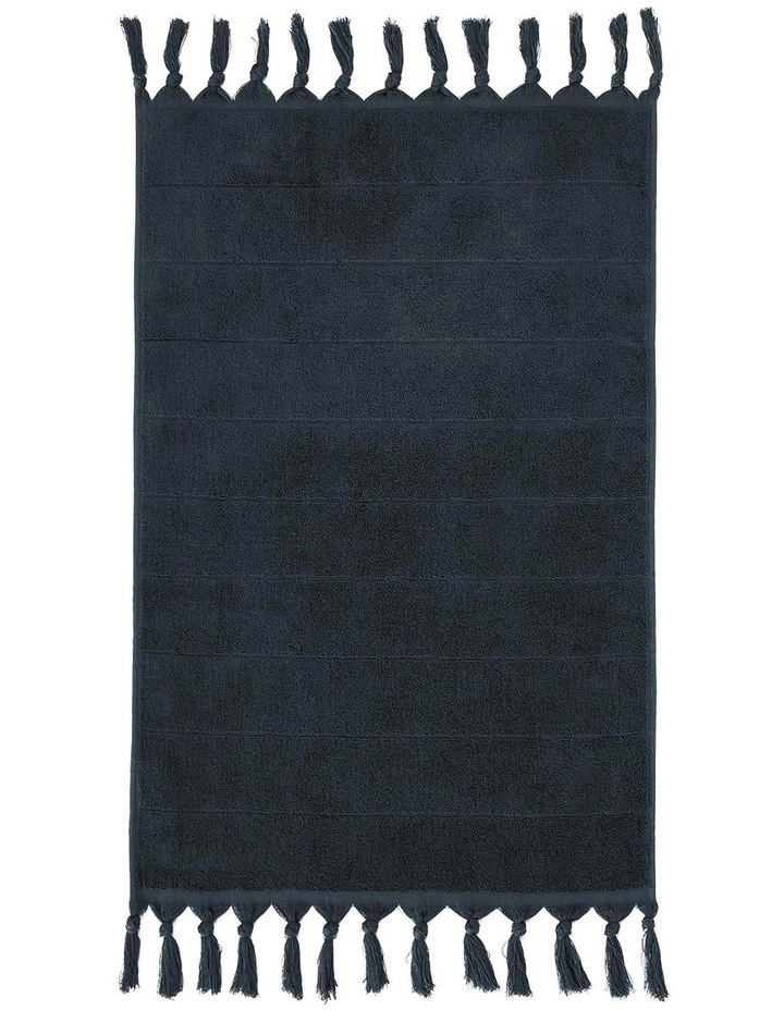 Paros Bath Towel Range in Slate Blue image 4