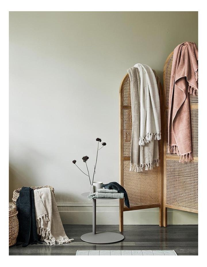 Paros Bath Towel Range in Slate Blue image 6