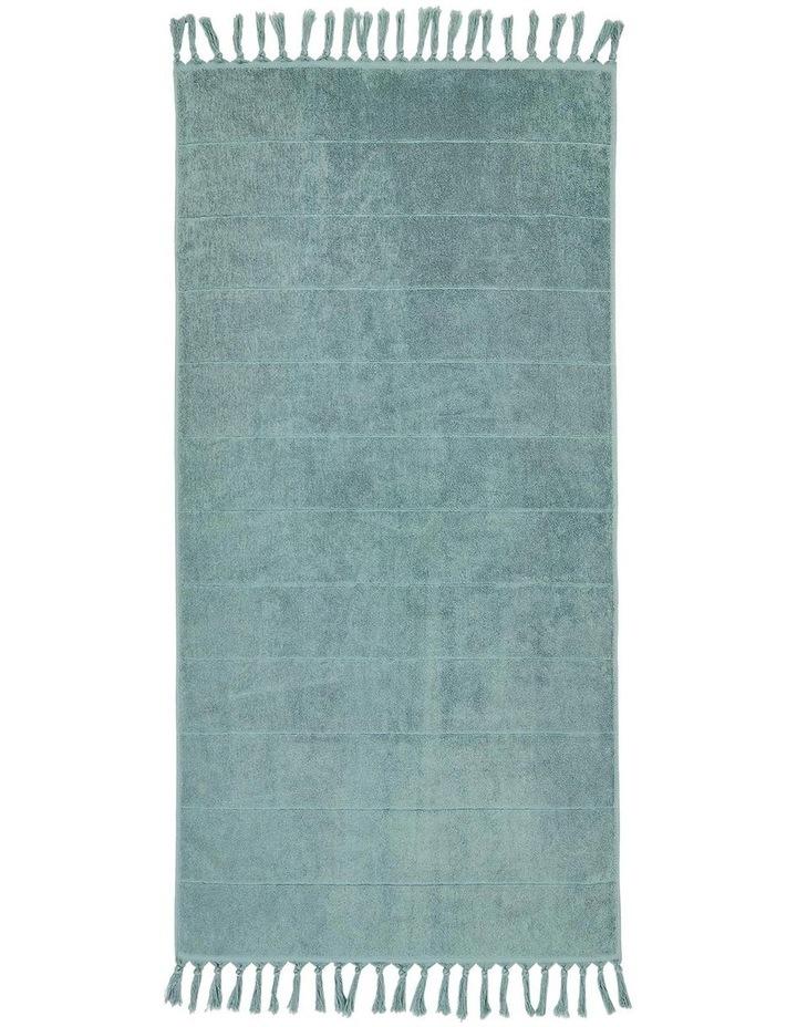 Paros Bath Towel Range in Jade image 2