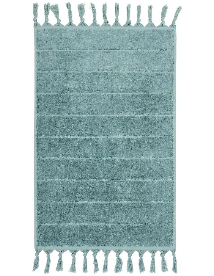 Paros Bath Towel Range in Jade image 4