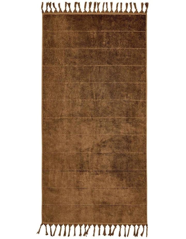 Paros Bath Towel Range in Caramel image 2