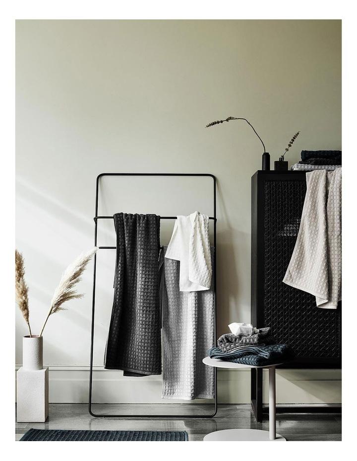 Waffle Bath Towel Range in Mahogany image 2