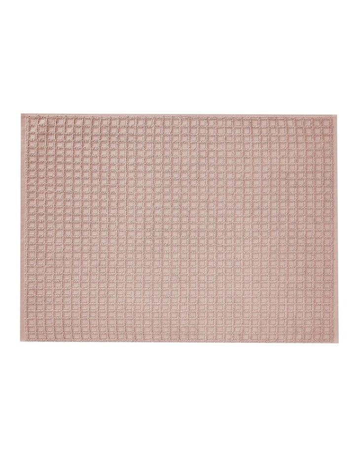 Waffle Bath Towel Range in Pink Clay image 3