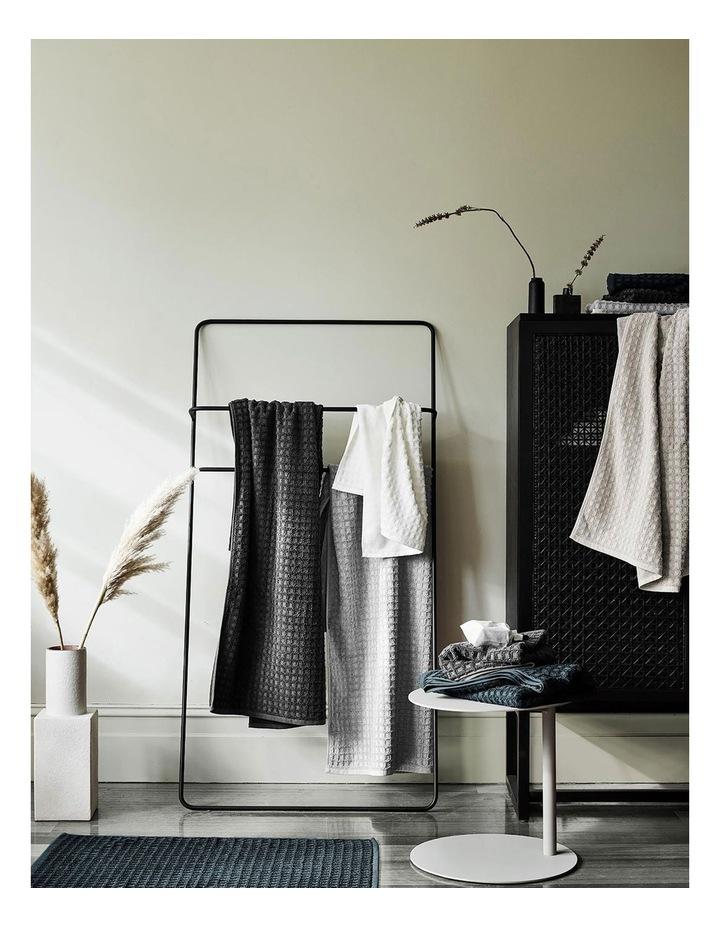 Waffle Bath Towel Range in Dove image 2