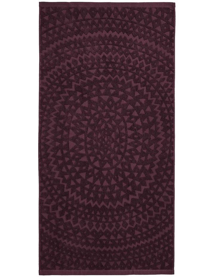 Maya Bath Towel Range in Fig image 2