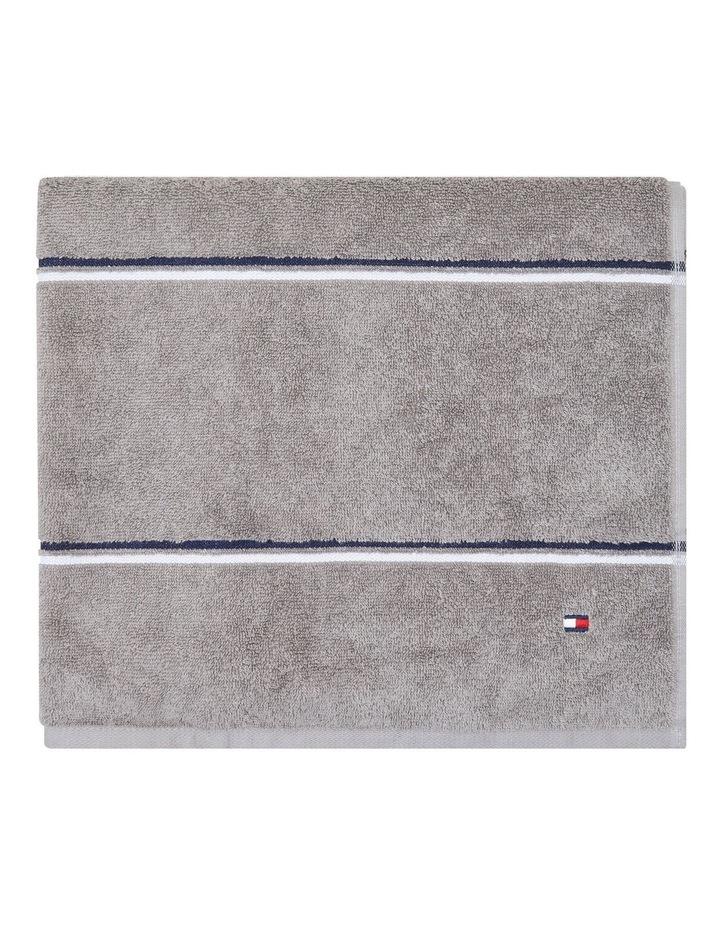 Tommy Hilfiger Modern American Multi Stripe Bath Towel image 1