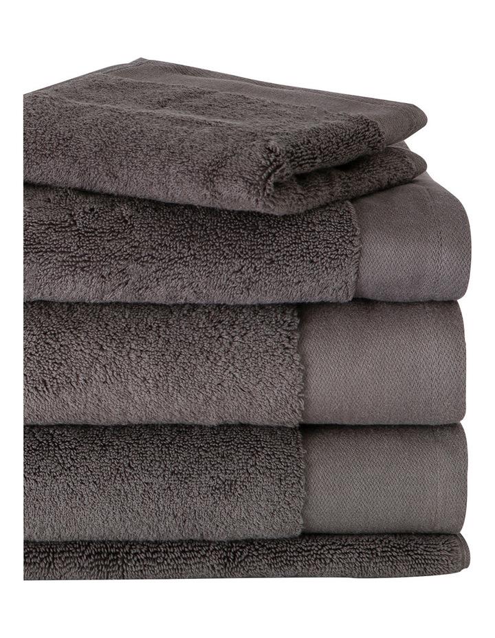 Living Textures Towel Range in Granite image 2