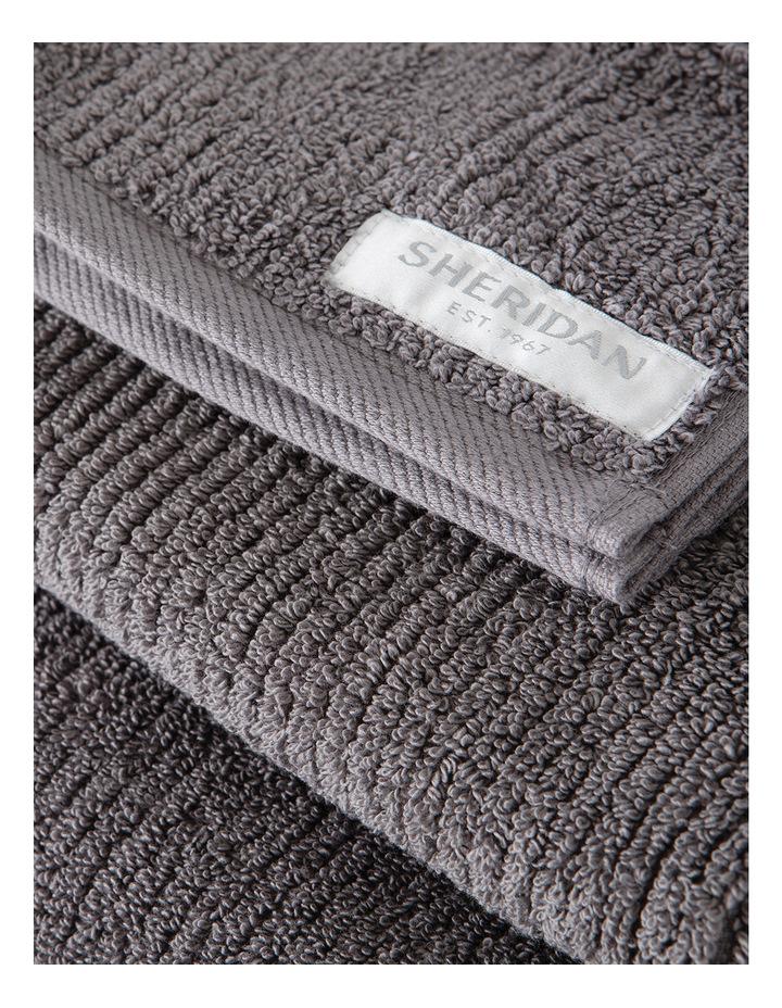 Living Textures Towel Range in Granite image 3