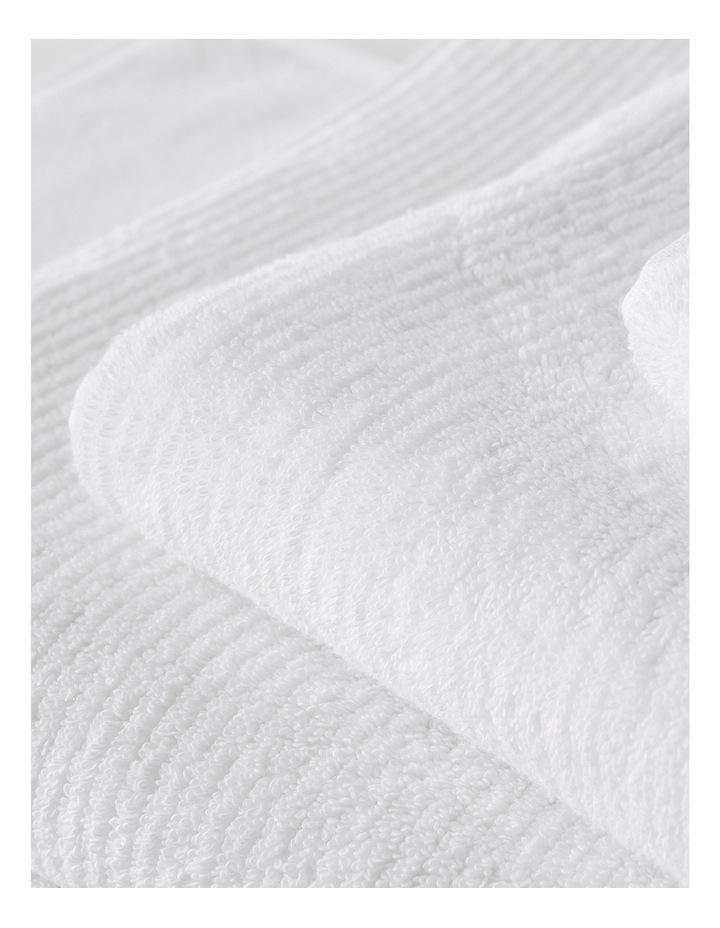 Living Textures Towel Range in Snow image 3