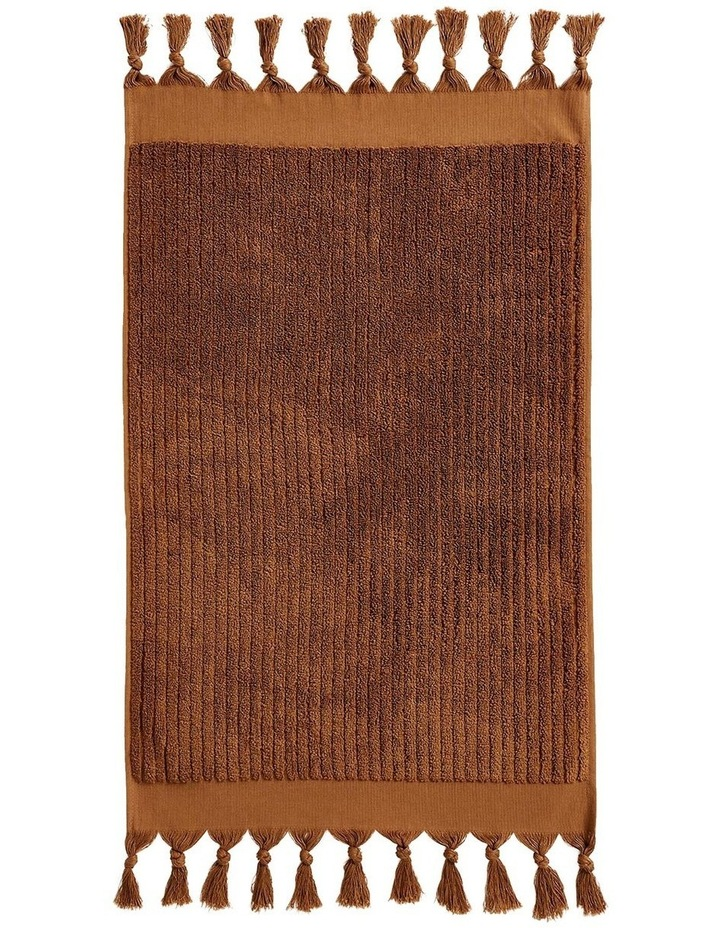 Paros Rib Bath Towel Range In Bronze image 2