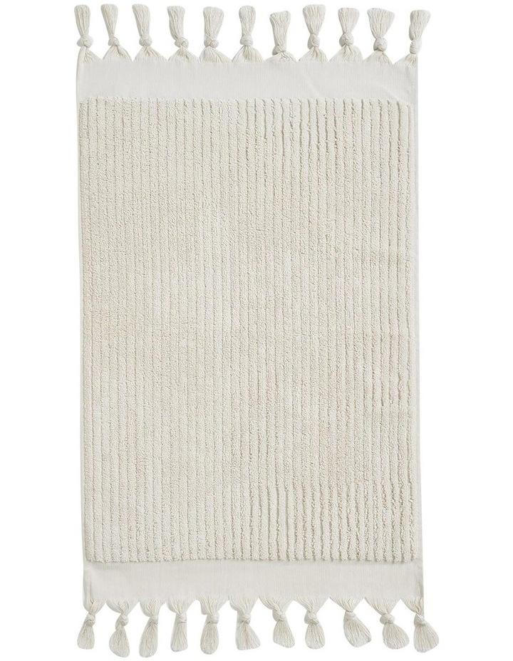 Paros Rib Bath Towel Set In Sand image 3