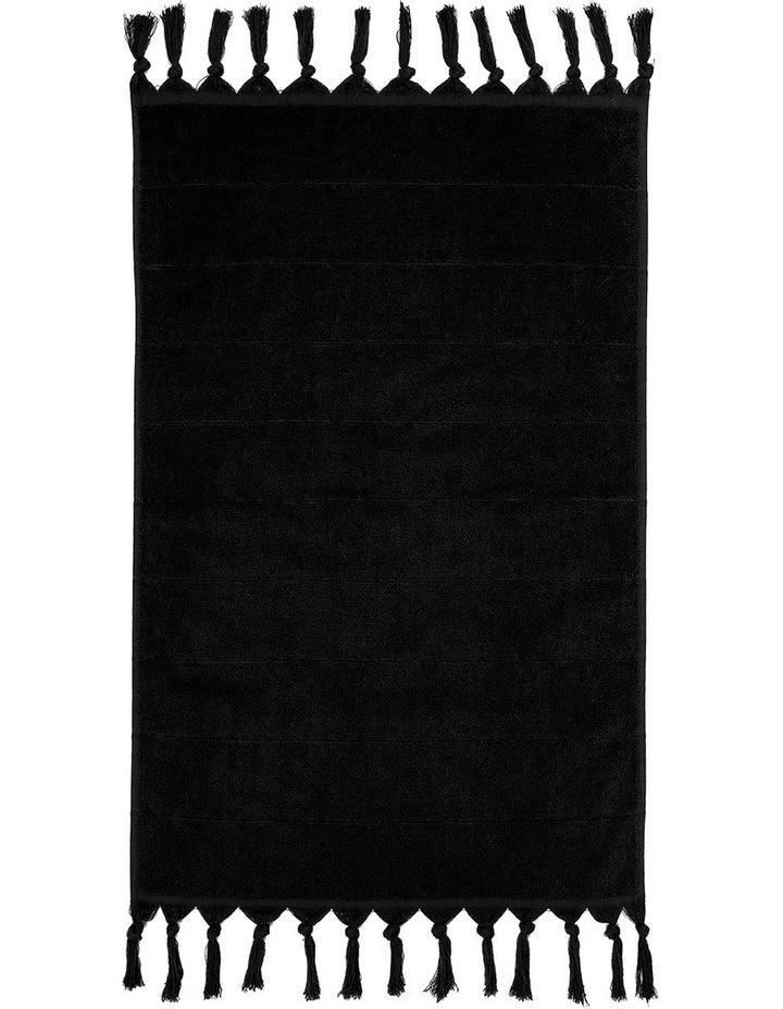 Paros Bath Towel Range In Black image 4