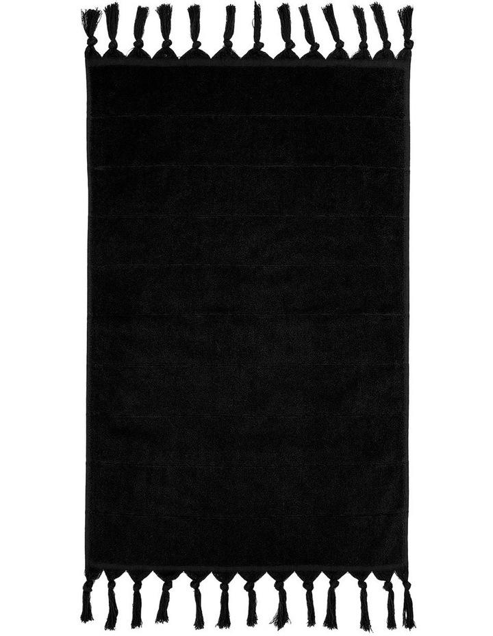 Paros Towel Range in Black image 5