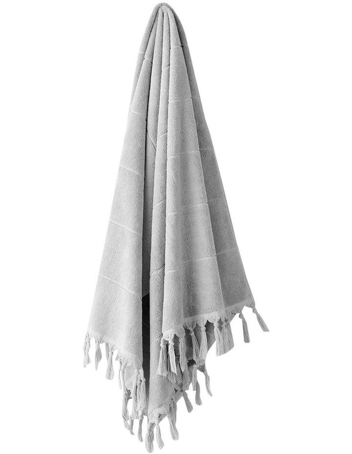 Paros Bath Towel Range in Dove image 1