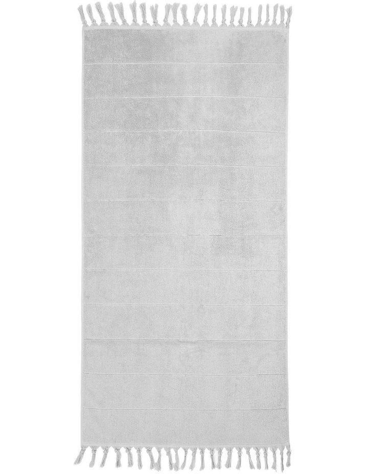 Paros Bath Towel Range in Dove image 2