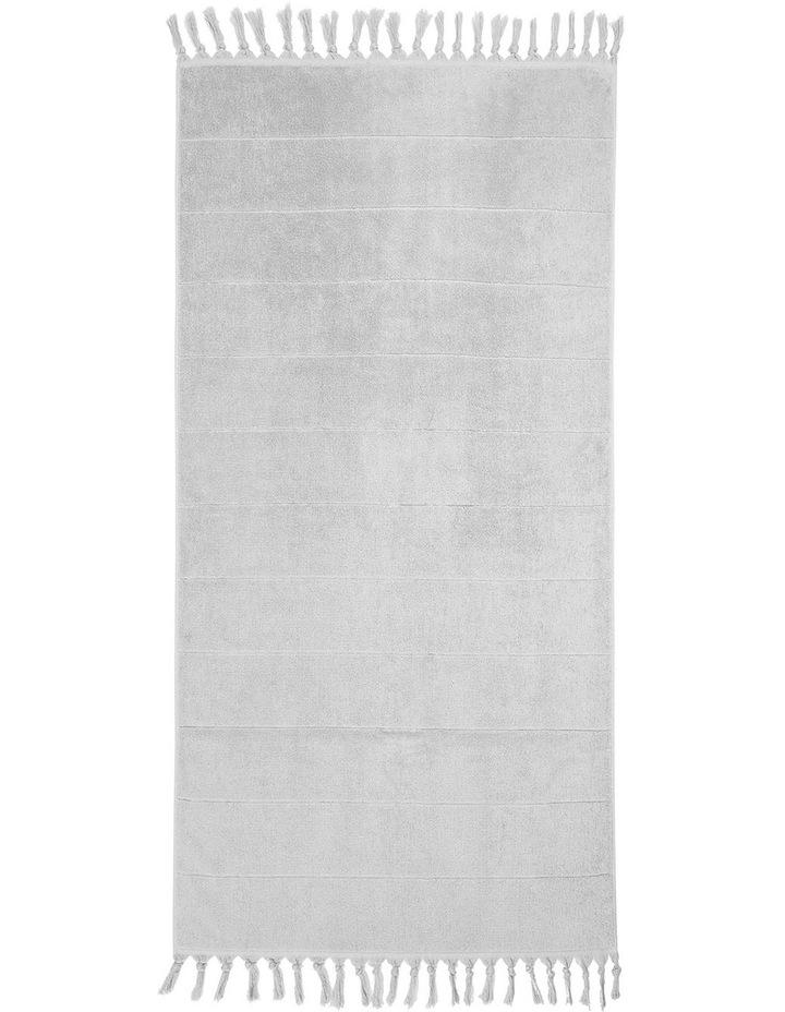 Paros Towel Range in Dove image 3