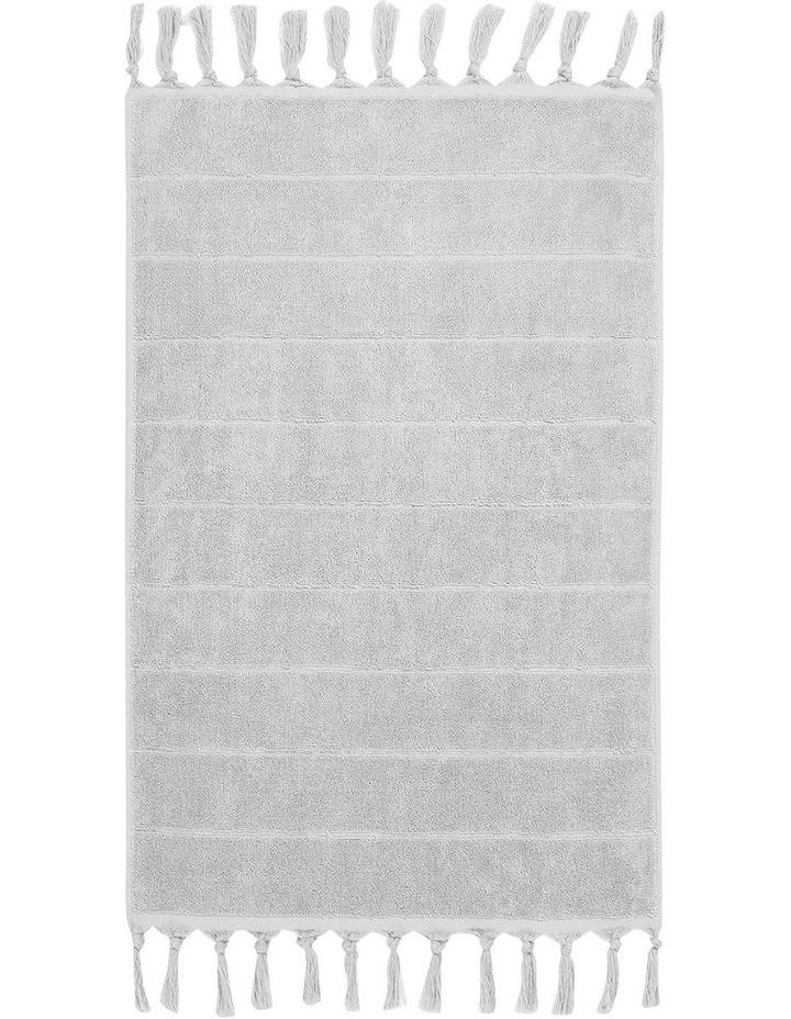 Paros Bath Towel Range in Dove image 4