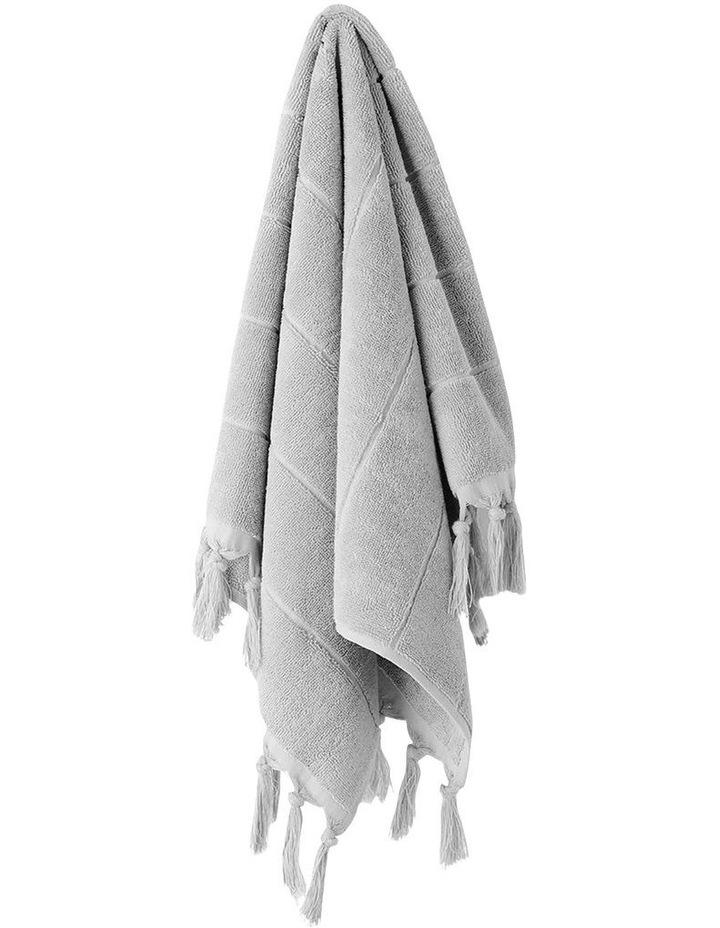 Paros Towel Range in Dove image 4