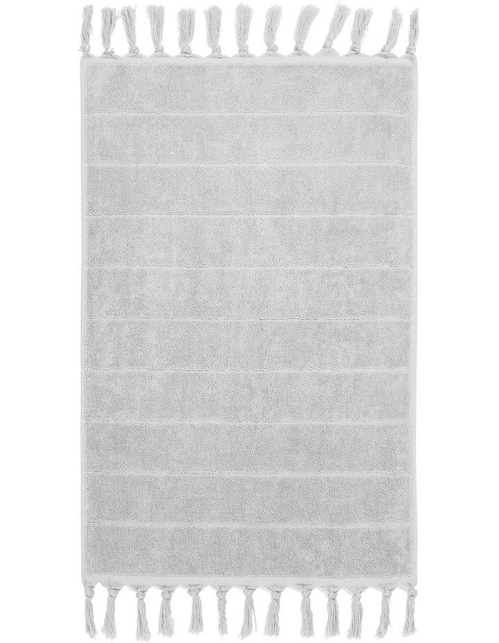 Paros Towel Range in Dove image 5