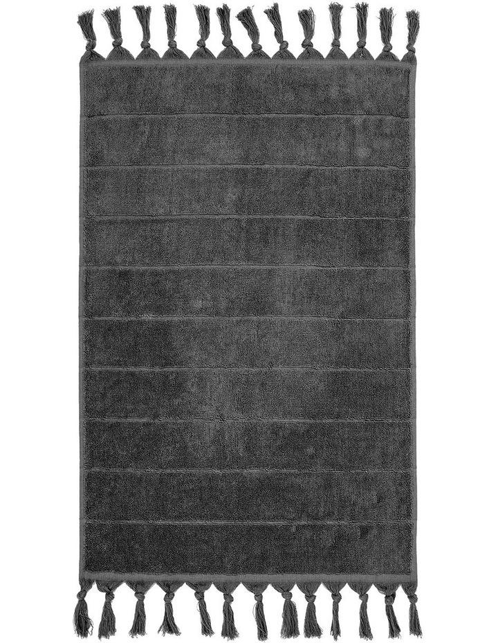 Paros Towel Range in Charcoal image 5