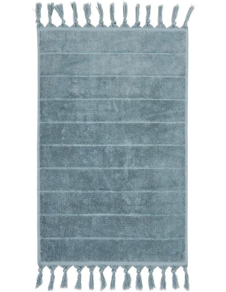 Paros Bath Towel Range in Eucalypt Green image 4