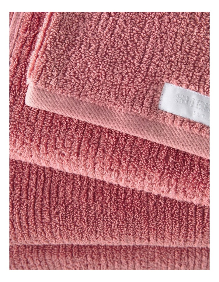 Living Textures Towel Range in Earth Rose image 1
