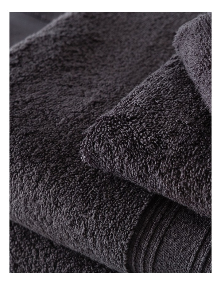 Quick Dry Luxury Towel Range in Graphite image 3