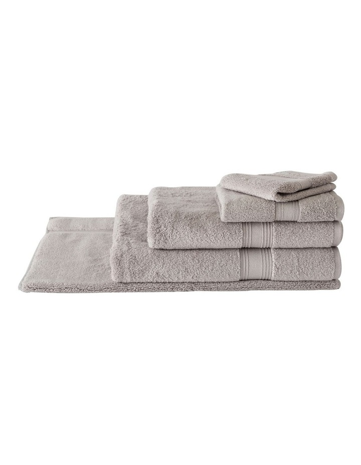 Quick Dry Luxury Towel Range in Silver image 1