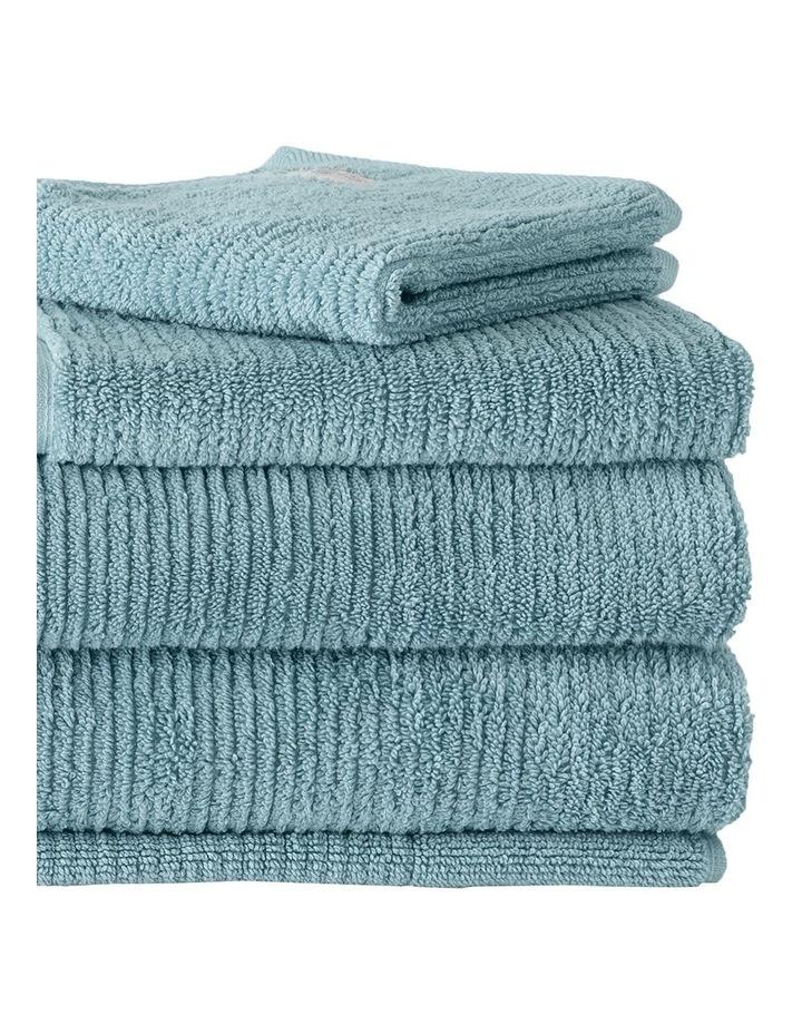 Living Textures Towel Range in Misty Teal image 2