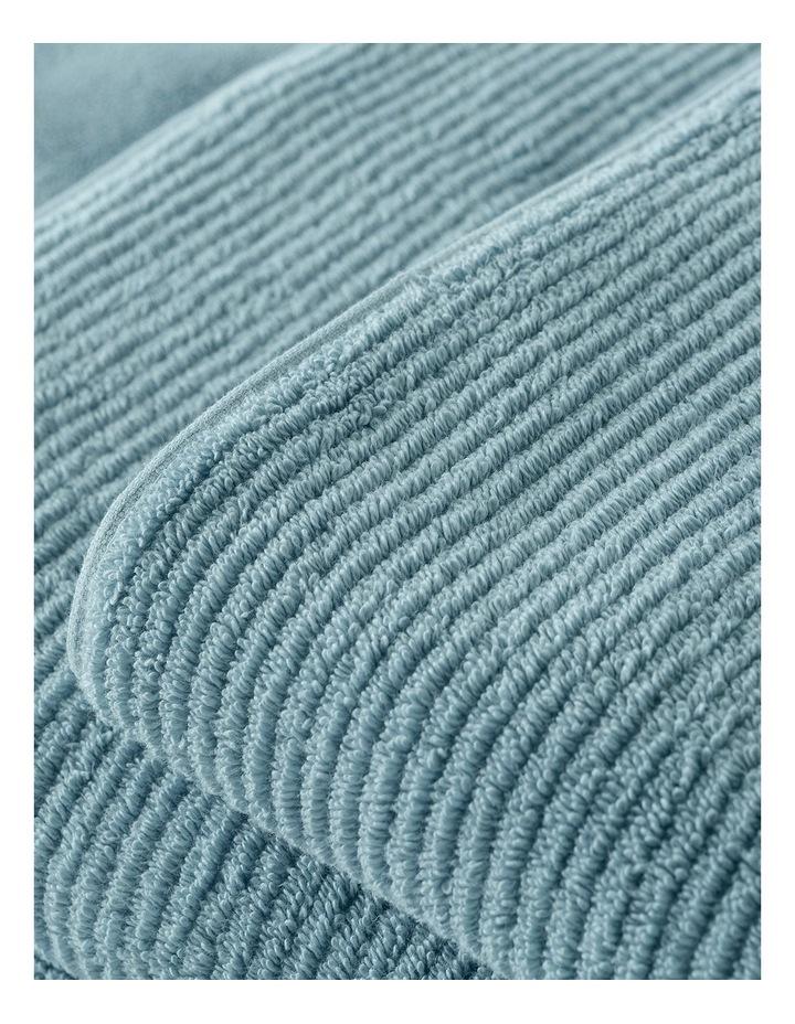 Living Textures Towel Range in Misty Teal image 3