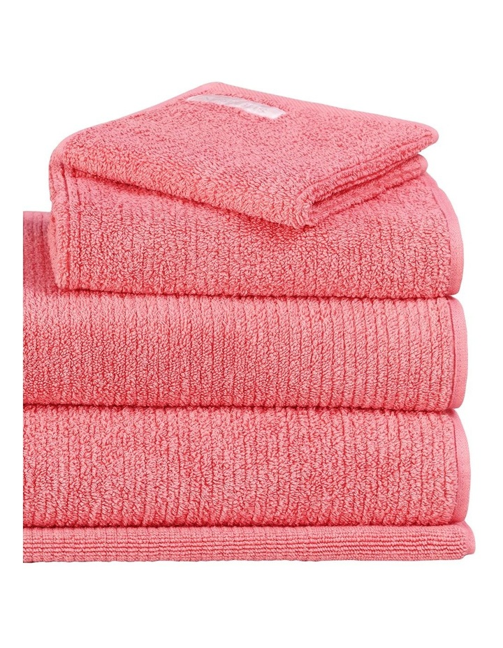 Living Textures Towel Range in Peony image 2