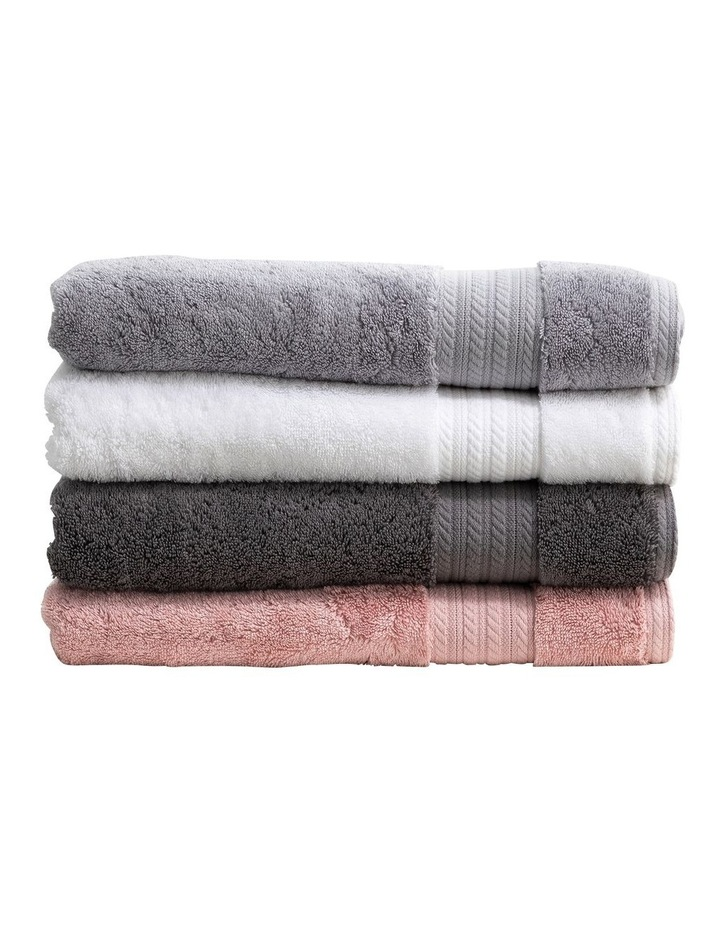 Heavenly Towel Range in Charcoal image 2
