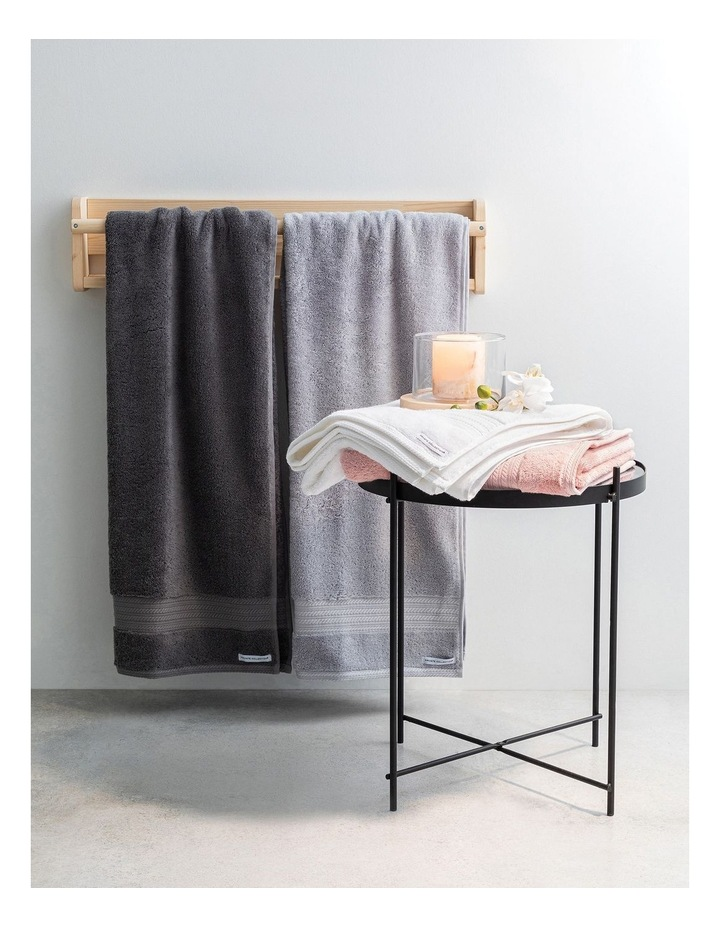 Heavenly Towel Range in Charcoal image 3