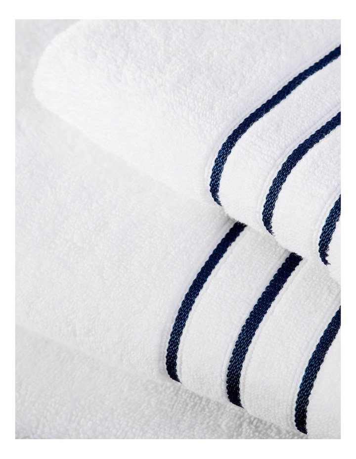 Palais Towel Range in French Blue image 2
