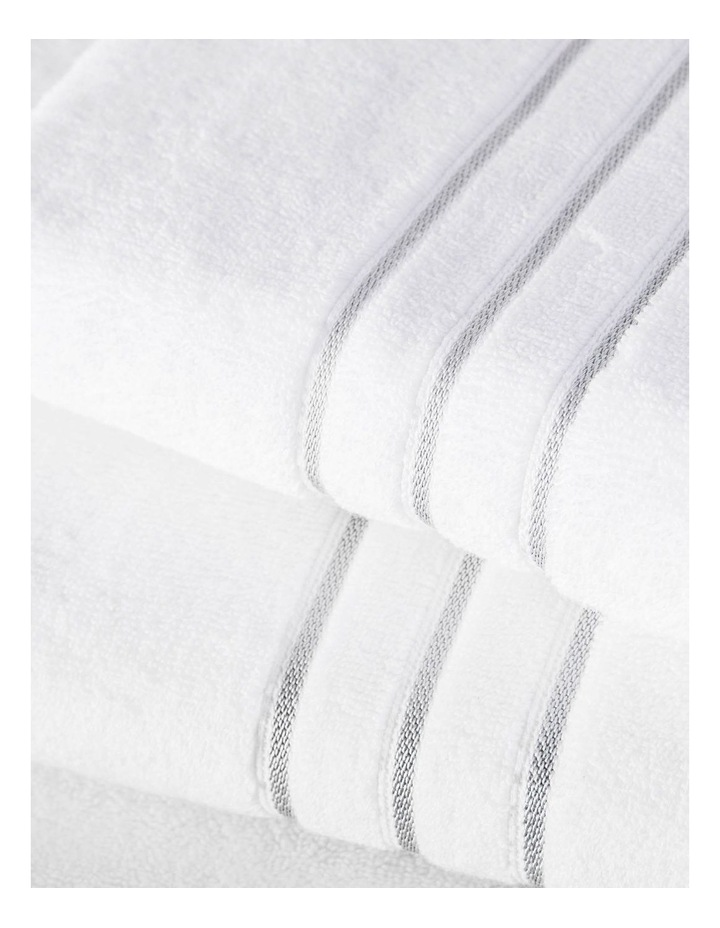 Palais Towel Range in Silver image 2