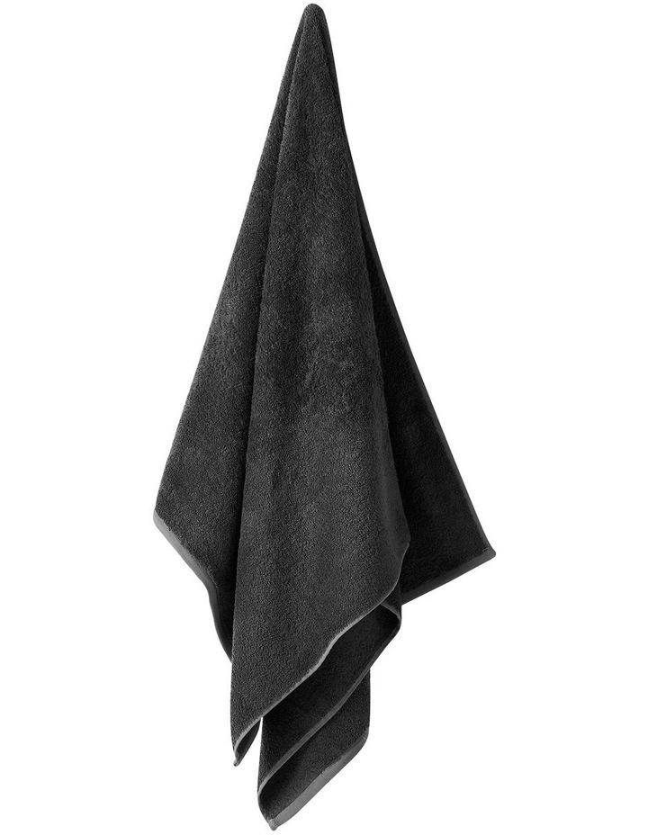 Nara Cotton Bamboo Towel Range In Charcoal image 1
