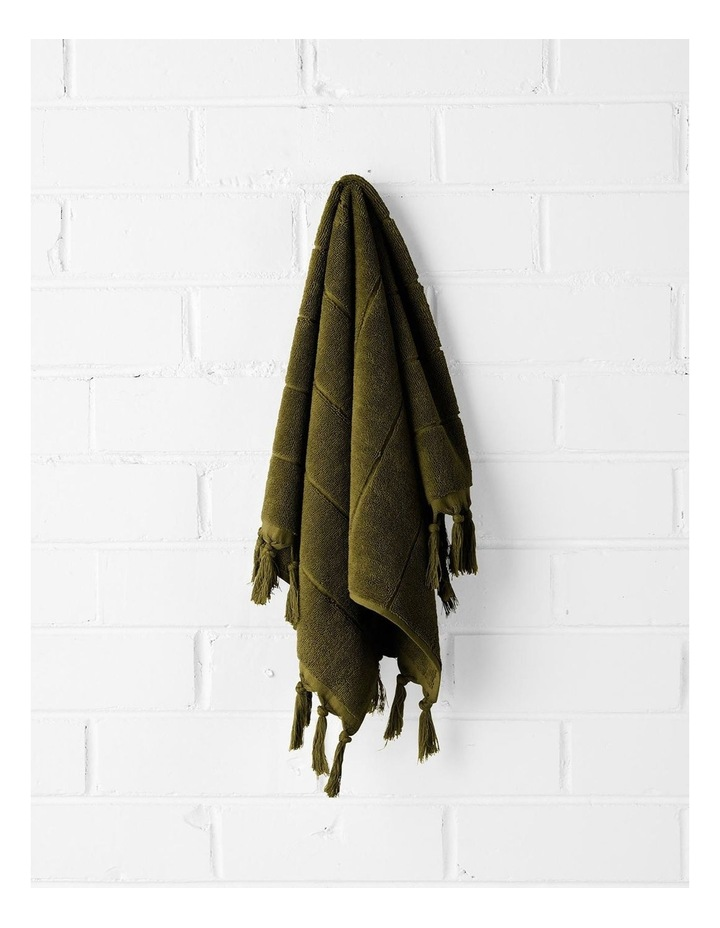 Paros Bath Towel Set - Khaki image 2