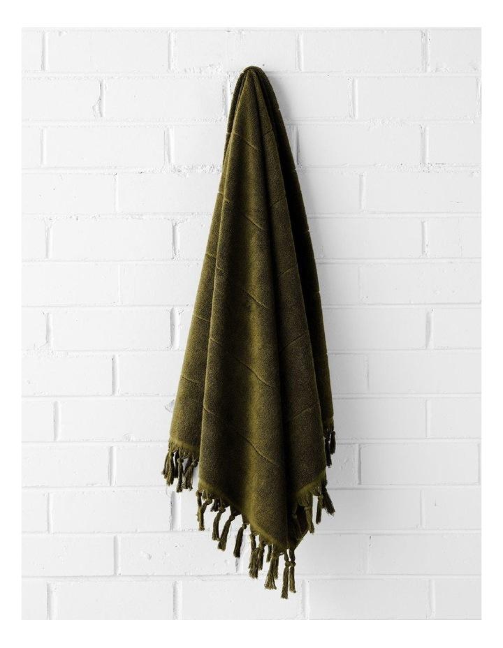 Paros Bath Towel Set - Khaki image 3