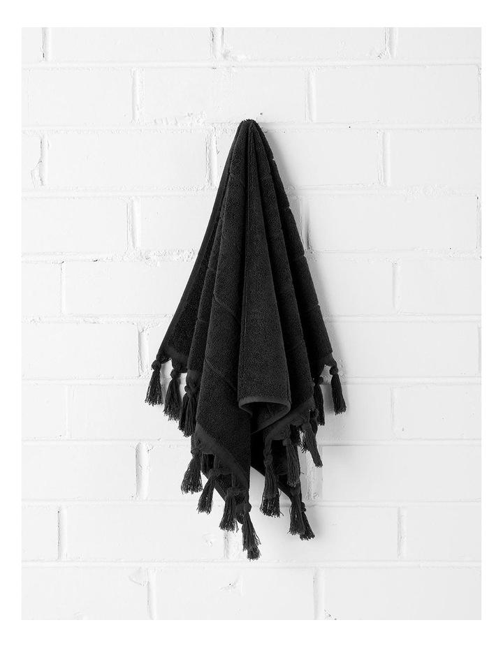 Paros Bath Towel Set - Black image 2