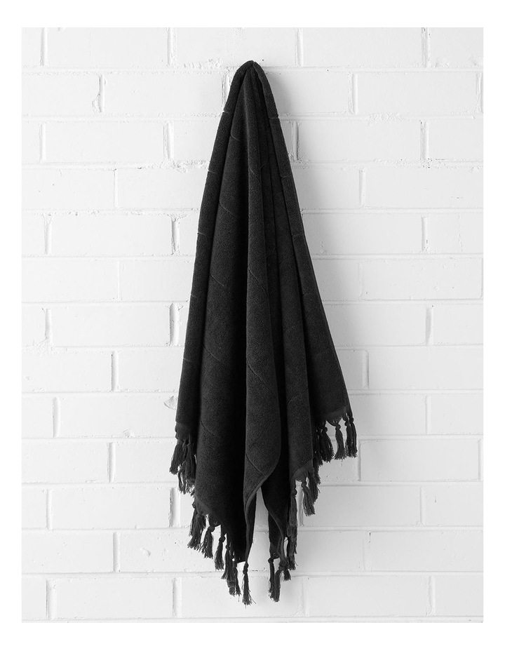 Paros Bath Towel Set - Black image 3
