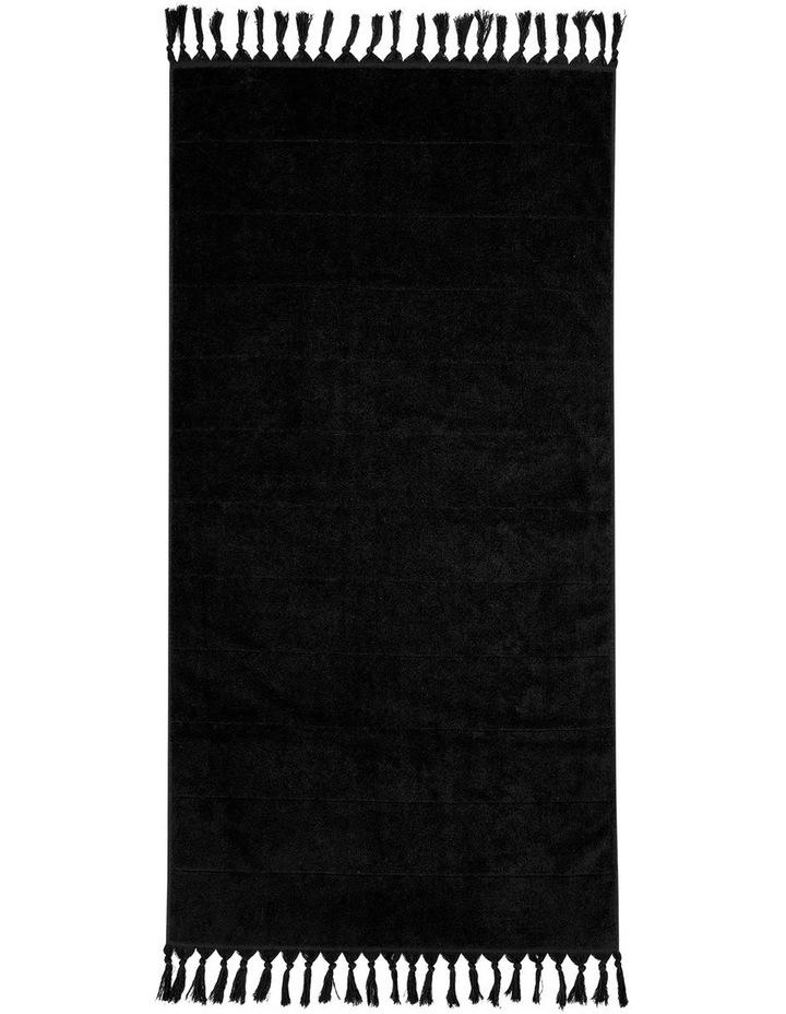Paros Bath Towel Set - Black image 4