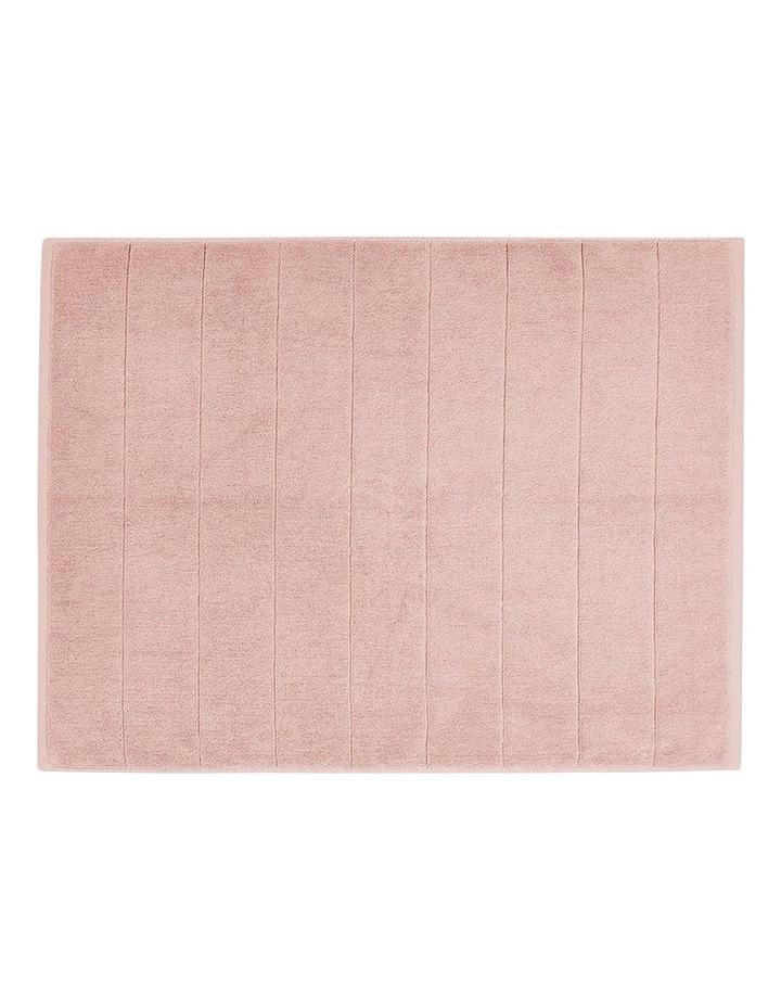 Paros Bath Towel Set In Pink Clay image 4