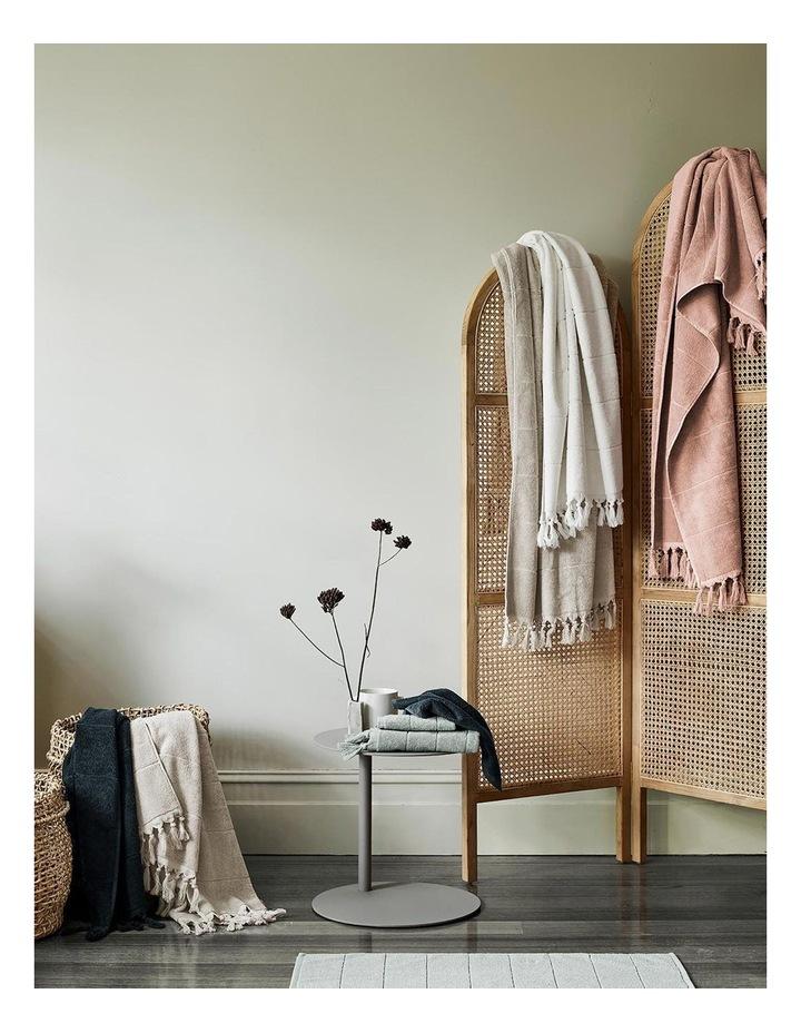 Paros Bath Towel Set In Pink Clay image 6