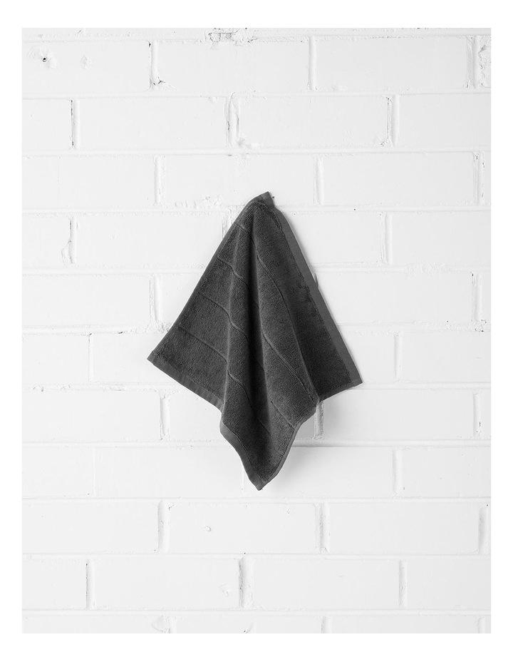 Paros Bath Towel Set - Charcoal image 2