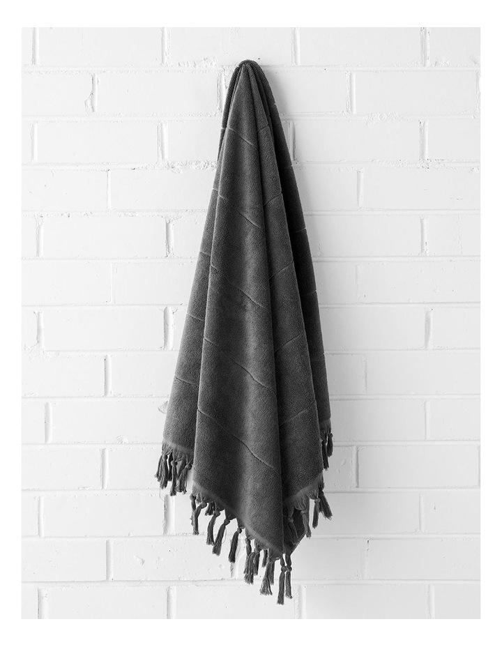 Paros Bath Towel Set - Charcoal image 4