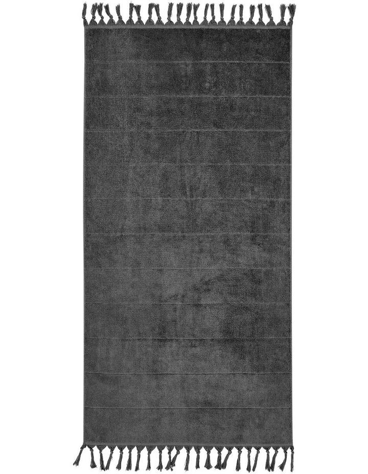 Paros Bath Towel Set - Charcoal image 5