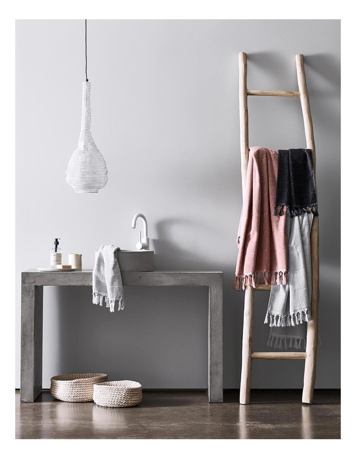 Paros Bath Towel Set - Dove image 5