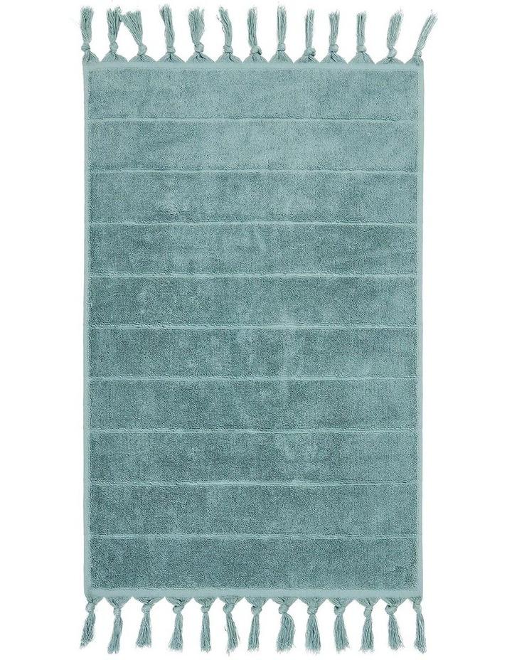 Paros Bath Towel Set in Jade image 3