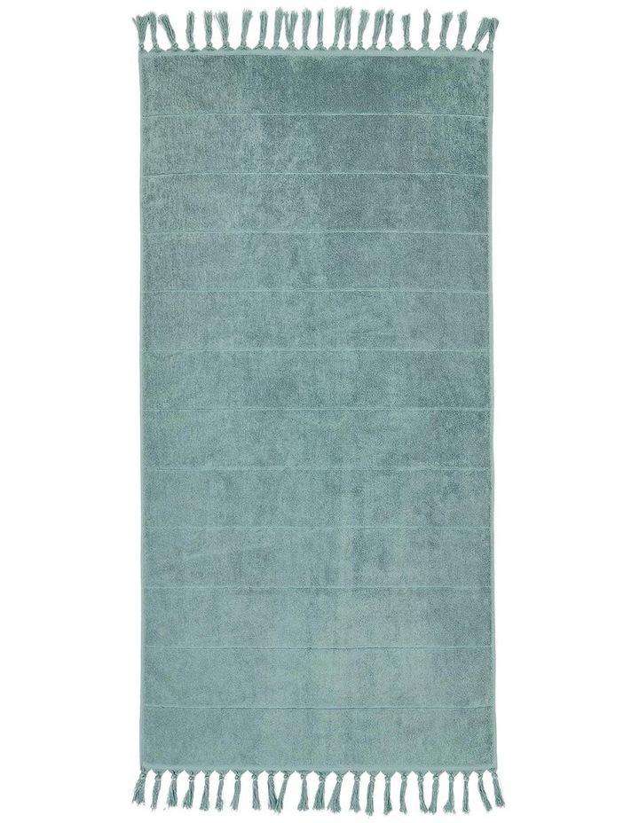 Paros Bath Towel Set in Jade image 5